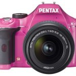 Pentax K-x DSLR available in girly pink hue