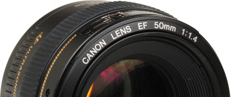 Canon EF 50 f1.4 II and EF 50 f1.8 III lenses in the make
